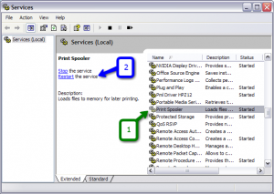 Fix Spooler Services of Epson Printers