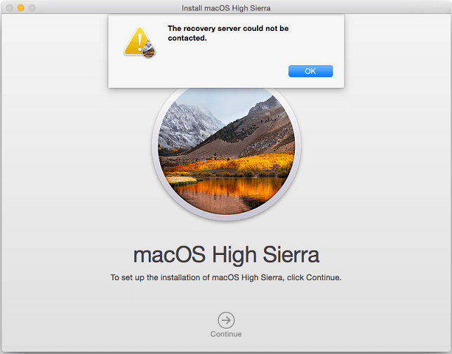 Recovery Server Could not Be Contacted Error | Mac Help 1844