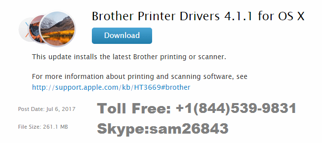 Brother Printer Drivers Mac | Call 844,539'9831 Brother Tech Support Now