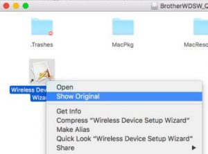 Open Brother Wireless Printer Setup Mac Wizard file