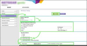 Activate Security In Netgear Router