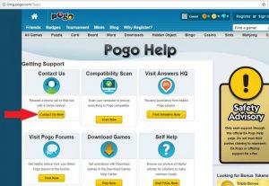 Pogo Help Page