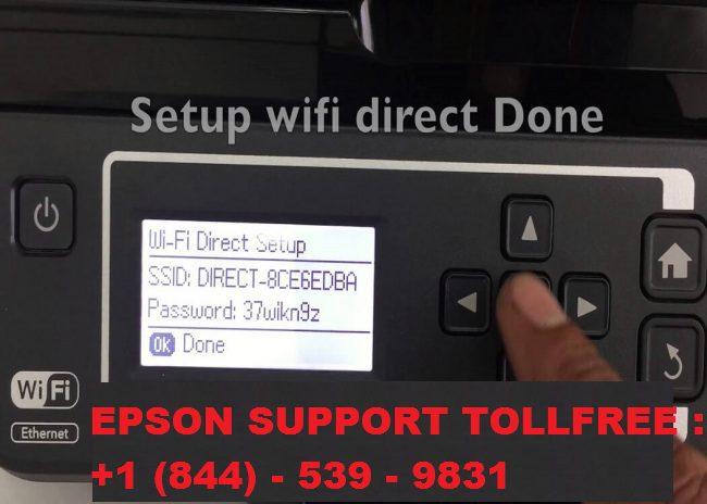 Wifi direct printer not working