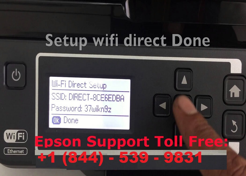 different ways to connect an Epson printer to Wireless network
