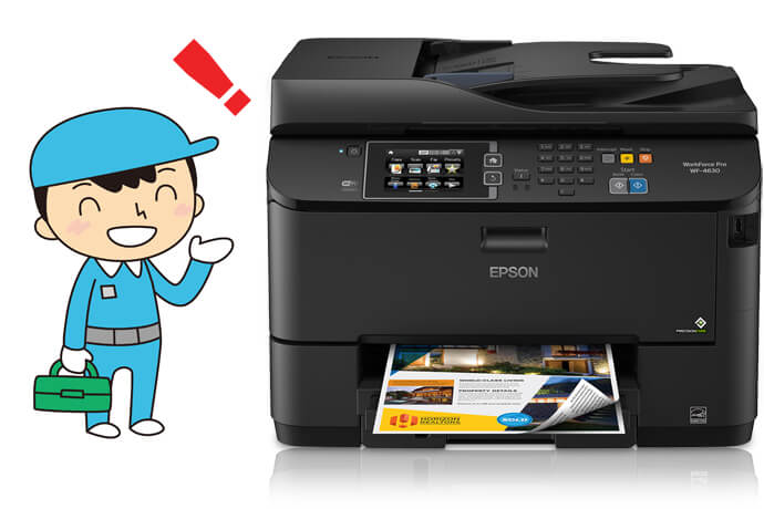 Troubleshoot Epson Inkjet Printer Error