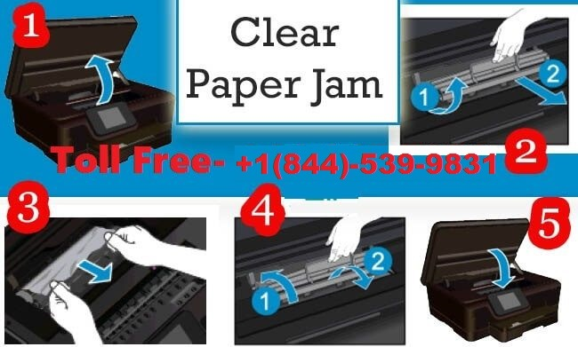 Brother Printer Paper Jam Issue? | Call 844-539-9831 Brother
