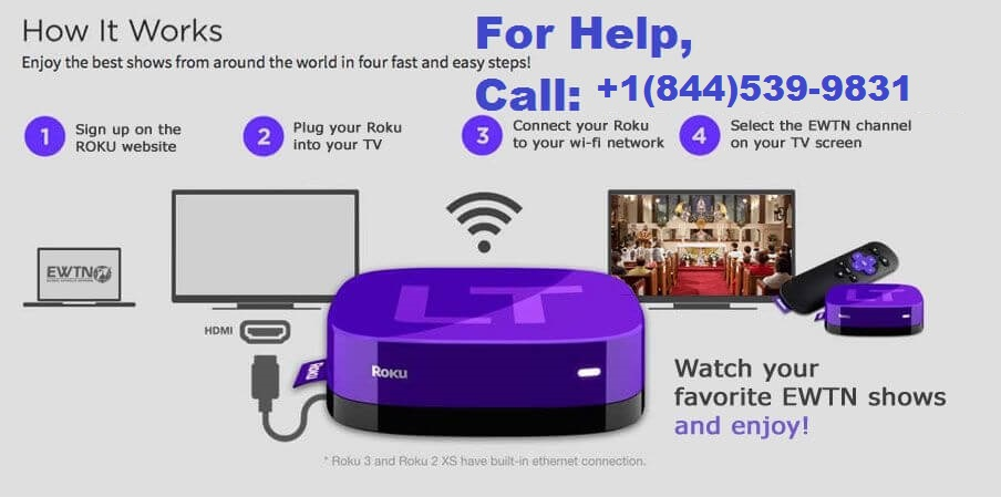 Register and activate Roku Streaming Devices