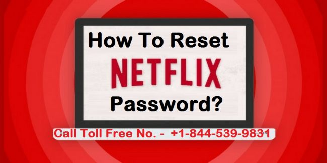 How To Reset Netflix Password