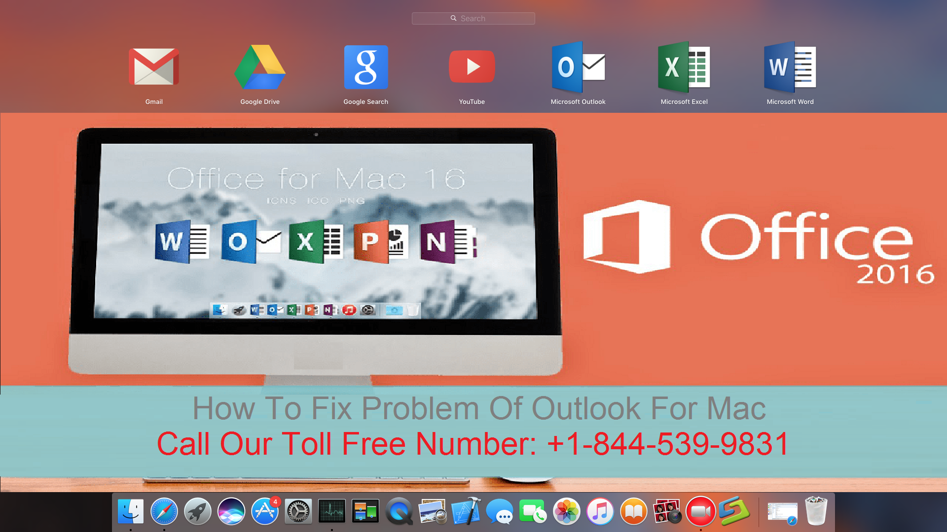 Problems Of Outlook For Mac & Their Solutions | Call +1-844