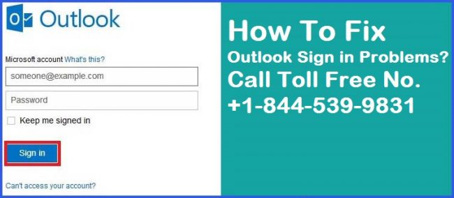 Outlook Sign In Problems