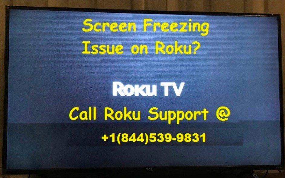 roku freezing sreen issue